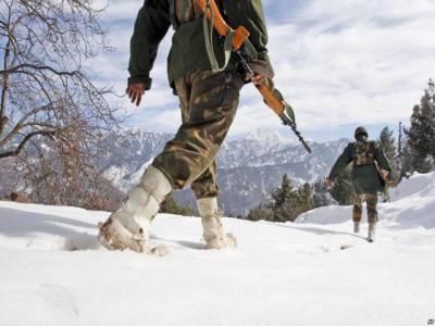 مقبوضہ کشمیر میں برفانی تودہ گرنے سے 5 بھارتی فوجی ہلاک