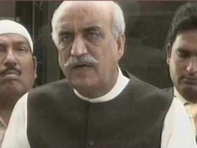 عمران خان کو اپوزیشن اتحاد میں شامل نہیں کرسکتے:خورشید شاہ