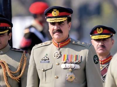مصر کی آرمڈ فورسز کے کمانڈر اور وزیر دفاع کی آرمی چیف سے ملاقات
