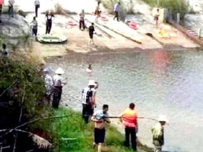 ایک بچی کو بچاتے بچاتے پورا خاندان ہی ڈوب گیا،دل دہلا دینے والا واقعہ