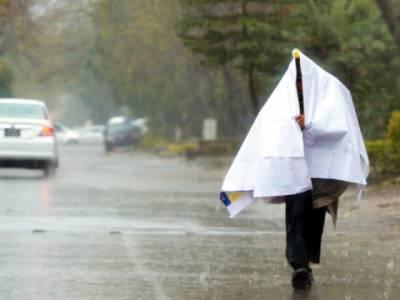 جڑواں شہروں میں بارش سے موسم خوشگوار، آزادکشمیرسمیت مختلف علاقوں میں مزید بارشوں کاامکان