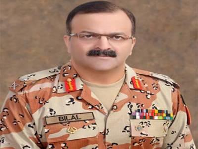 ڈی جی رینجرز کا کراچی کے مختلف علاقوں میں دورہ ،امن وامان کی صورتحال کا جائزہ