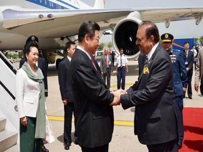 چینی صدر کا طیارہ اڑتے ہی لوڈشیڈنگ شروع