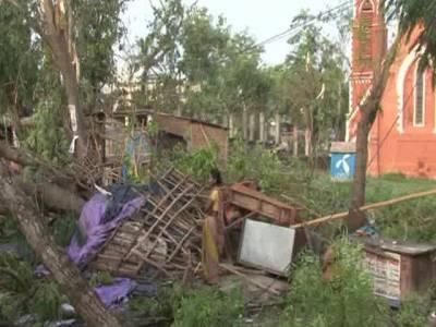 بھارتی ریاست بہار میں طوفان ، کم ازکم 32افرادجاں بحق، فصلیں تباہ