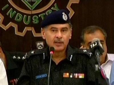 آئی جی سندھ کا پولنگ سٹیشنز کادورہ ،سیکیورٹی صورتحال کا جائزہ