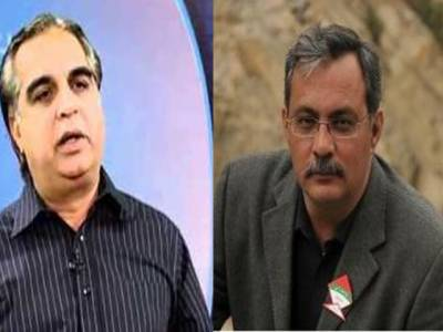 این اے 246ضمنی انتخاب ،ووٹوں کی گنتی جاری، عمران اسماعیل اور حیدر عباس رضوی نے اکھٹے چائے پی اور خوشگوار موڈ میں گفتگو کی