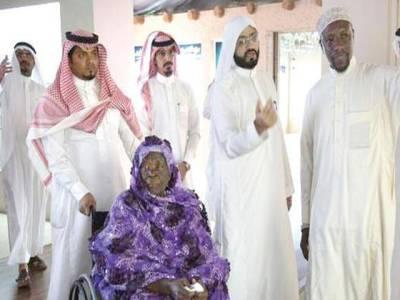 صدر اوباما کی دادی عمرہ ادا کرنے سعودی عرب پہنچ گئیں