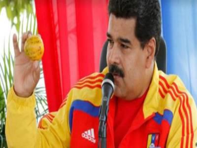 بے گھر خاتون کا وینزویلا کے صدر پر حملہ ، صدر کا وہ جوابی اقدام جس نے حملہ آور خاتون کو باغ باغ کردیا