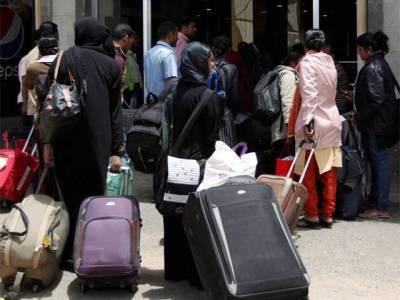 پاک فضائیہ کا سی ون 130طیارہ 39پاکستانیوں کو لیکرنیپال سے وطن واپس پہنچ گیا