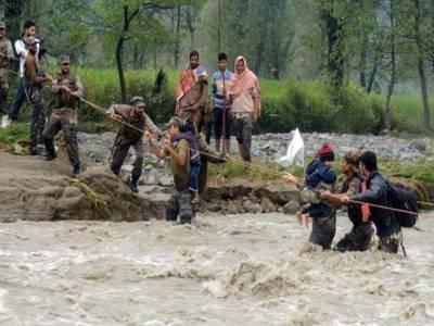خیبرپختونخواہ بارش ، امدادی کاروائیوں کے لیے پاک فوج کی ٹیمیں روانہ