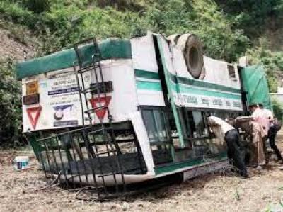 بھارتی ریاست مدھیہ پردیش میں بس حادثہ ،50 افراد ہلاک،متعدد زخمی