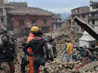 نیپال سے امدادی ٹیموں کی واپسی شروع