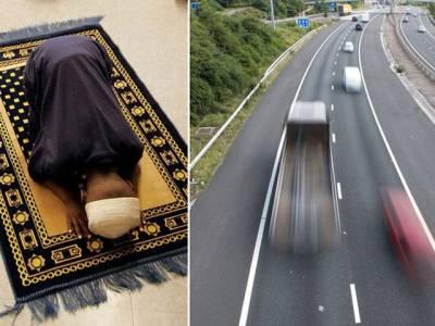 مسلمان شہر ی کا برطانیہ کی معروف ترین شاہراہ پر وہ اقدام جس نے لوگوں کو چکرا کر رکھ دیا