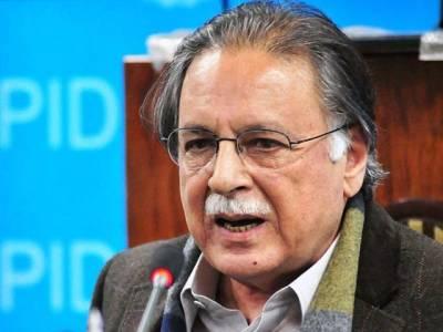 گورنر سندھ سے استعفیٰ کے مطالبے پر کوئی بات نہیں کرنا چاہتا : پرویز رشید