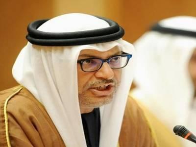 پاکستان سے متعلق بیان ذاتی رائے تھی ، امارات کی خارجہ پالیسی کا بیان سے کوئی تعلق نہیں : انور قرقاش