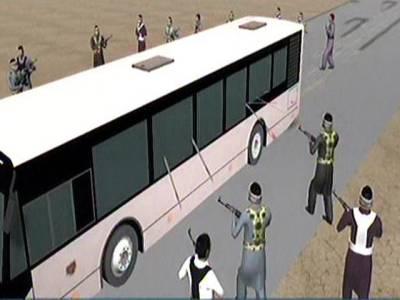 بس حملہ ، مسافروں کے سر اور سینوں میں گولیاں ماری گئیں: ایس ایس پی ملیر