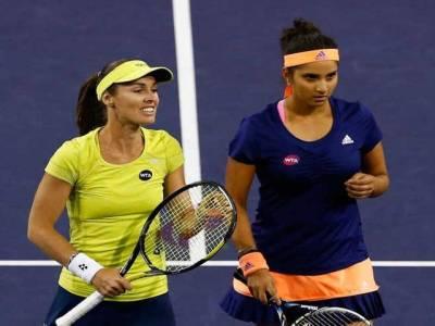 روم اوپن ٹینس ،ثانیہ مرزاکو ویمنز ڈبلز کے فائنل میں مایوسی