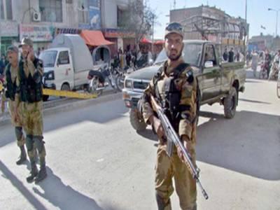 بلوچستان میں ایف سی کی کارروائی ،5دہشت گرد گرفتار
