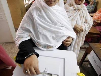 خیبرپختونخواہ میں خواتین کے ووٹ ڈالنے پر پابندی ، الیکشن کمیشن نے نوٹس لے لیا