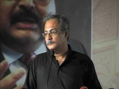 ہم بھیک نہیں مانگ رہے ، آبادی کے لحاظ سے اپنا حق مانگ رہے ہیں : حیدر عباس رضوی