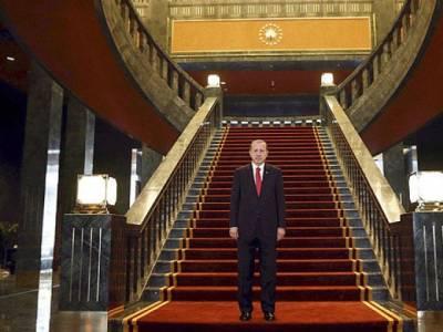ترک صدر نے نئے صدارتی محل میں منتقلی کی ناقابل یقین وجہ بتادی