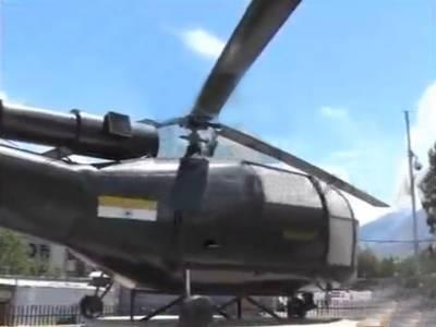 گن شپ بھارتی ہیلی کاپٹر جسے پاک فوج نے اترنے پر مجبور کردیا، آج بھی گلگت میں موجود