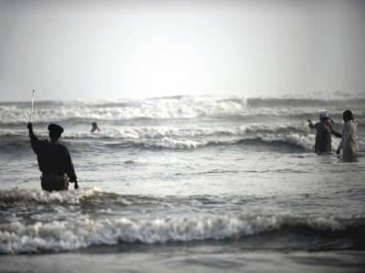 محکمہ موسمیات نے سمندر میں طوفان کی وارننگ جاری کر دی