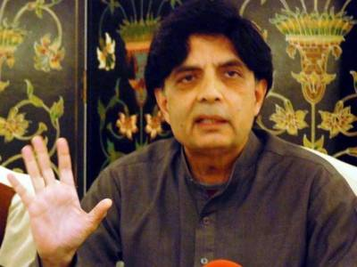 بھارت کسی غلط فہمی میں نہ رہے ، پاکستان میانمار نہیں ، پاک فوج جواب دیناجانتی ہے: وزیرداخلہ چوہدری نثارعلی خان