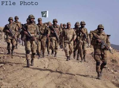پاک فوج کی کارروائی، مطلوب دہشت گرد حاجی گل 4 ساتھیوں سمیت ہلاک