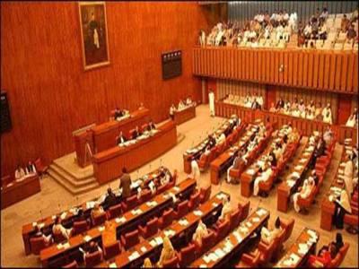 سینٹ میں مودی کے پاکستان مخالف بیان پر قرار داد متفقہ طور پر منظور