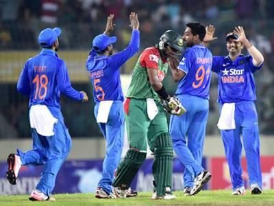 تیسرا ون ڈے: بھارت نے بنگلہ دیش کو 77 رنز سے مات دیدی، سیریز میں شکست کا سامنا