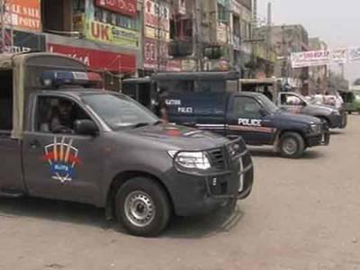 اقبال ٹاﺅ ن بینک میں فائرنگ کرنےوالا شخص مبینہ پولیس مقابلے میں مارا گیا