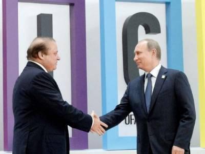 وزیر اعظم نواز شریف کی روسی صدر رولادی پیوٹن سے ملاقات ، ایس او سی کی رکنیت لے کر دینے کا شکریہ ادا کیا