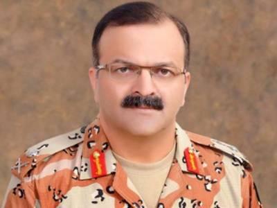 کراچی آپریشن منطقی انجام کو پہنچائیں گے : ڈی جی رینجرز سندھ