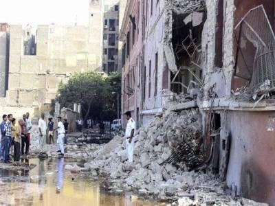 قاہرہ میں اطالوی قونصیلٹ کے باہر بم دھماکا'ایک شخص ہلاک'4 زخمی
