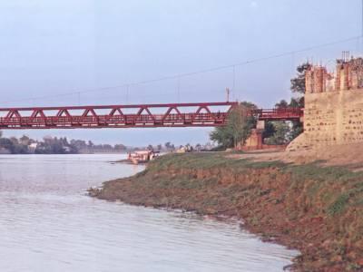 دریائے کابل میں نوشہرہ ، ورسک کے مقام پر درمیانے درجے کا سیلاب ، وارننگ جاری