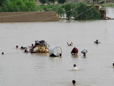 راجن پور کے علاقوں میں 31 ہزار کیوسک کو سیلابی ریلا ، رہائشیوں کی محتاط رہنے کی ہدایت:فلڈ کنٹرول