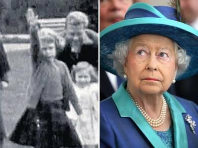 برطانوی ملکہ الزبتھ کی 'نازی سلیوٹ' کرتے ہوئے بچپن کی تصویر پر تنازع کھڑا ہو گیا