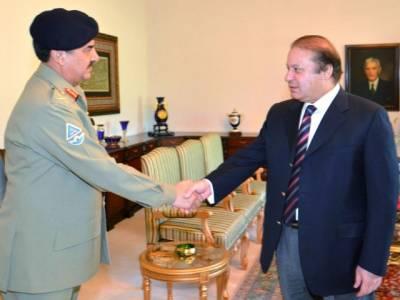 وزیراعظم اور آرمی چیف کے درمیان اہم ملاقات ،مختلف امور پر تبادلہ خیال