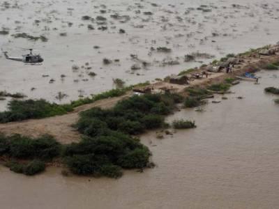 بھارت سے چھوڑے گئے پانی نے تباہ حا ل علاقوں میں پھر تباہی بچا دی