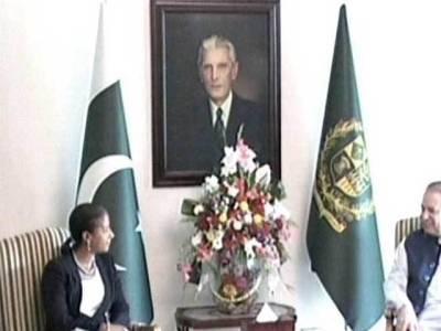 نواز شریف اور امریکی قومی سلامتی مشیر کی ملاقات ،پاکستان کی دہشتگردوں کیخلاف کا میابیوں کو سراہا