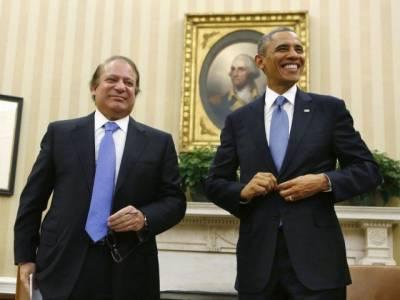 باراک اوباما کی وزیر اعظم نواز شریف کو دورہ امریکہ کی دعوت