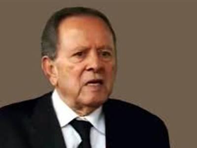 بیرسٹر عبدالحفیظ پیر زادہ لندن میں انتقال کرگئے
