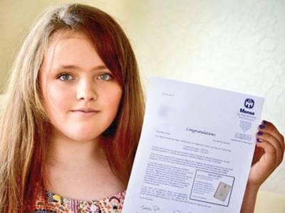 بارہ سالہ برطانوی بچی نے آئی کیو ٹیسٹ میں آئن سٹائن اور سٹیفن ہاکنگ جیسی عبقری شخصیات کو پیچھے چھوڑ دیا