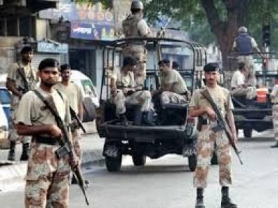 کندھکوٹ' ملزمان کی فائرنگ سے رینجرز کے ڈی ایس آر جاوید شہید ،ڈی ایس آر آصف سمیت تین اہلکار زخمی