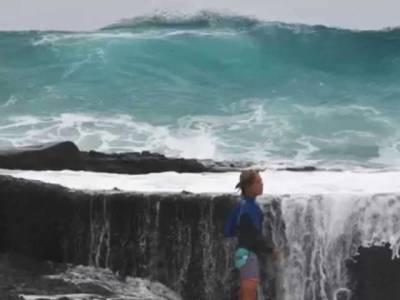 جاپان کے ساحلی علاقوں میں سمندری طوفان،نظام زندگی مفلوج، مواصلات کا نظام درہم برہم