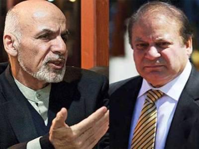 اپنی سرزمین پاکستان کے خلاف استعمال کرنے کی اجازت نہیں دیں گے، افغان صدر کا نواز شریف کو فون