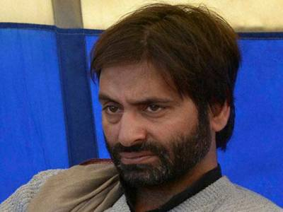 بھارتی پولیس نے حریت رہنما یاسین ملک کو گرفتارکرلیا