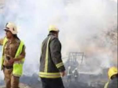 مکہ مکرمہ کے ہوٹل میں آتشزدگی ، حجاج کرام محفوظ مقام پر منتقل