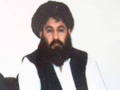 کابل حکومت امن چاہتی ہے تو امریکا کے ساتھ سیکیورٹی ڈیل منسوخ کردے:ملا اختر منصور